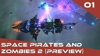 Space Pirates and Zombies 2 Gameplay FR – Ép. 1 – Let's play de l'accès anticipé (version preview)