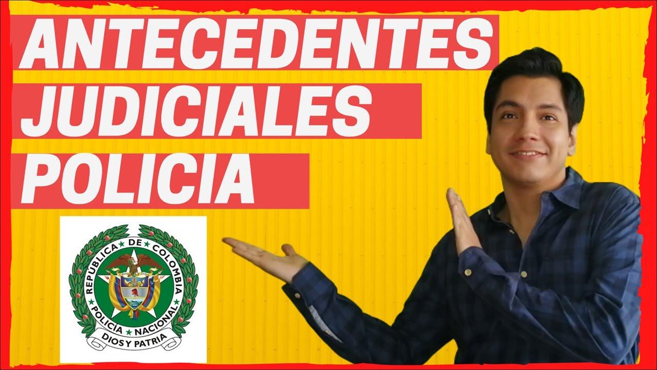 Descargar Antecedentes Judiciales Pasado Judicial Policia ...