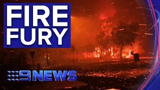 SPECIAL COVERAGE: Firefighters continue to battle Queensland blazes | Nine News Australia