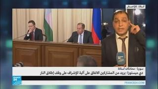 محمد علوش: سنواصل القتال إذا فشلت محادثات أستانة
