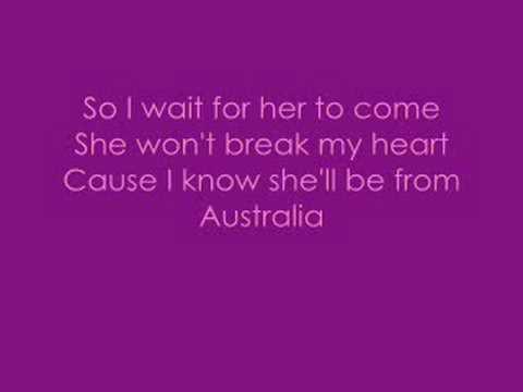 Jonas brothers-Australia WITH LYRICS ON SCREEN