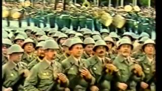 marsch der Kampfgruppen und der NVA