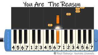 Gambar cover You are the Reason not pianika