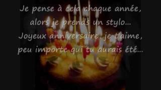 flipsyde happy birthday  - sous titré en français