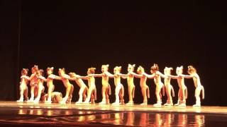 Танец кошек,штбп Саша Мальцева