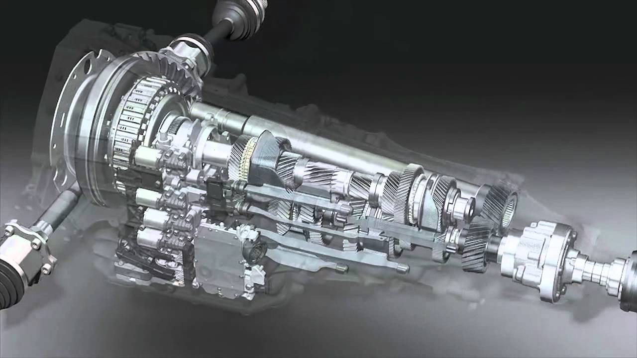 Audi Dual Clutch Transmission Technology Youtube