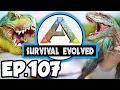 ARK: Survival Evolved Ep.107 - BATTLING A DRAKE FOR DRAKE TROPHY!!! (Modded Dinosaurs Gameplay)