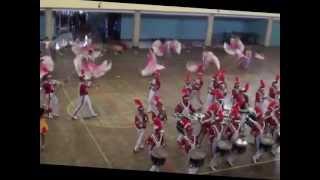MARCHING BAND GITA SISWA ANORAGA - Simphony Yang Indah @ PIALA KONI 2012