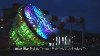 ProSlide Tornado water slide · Wilderness at the Smokies