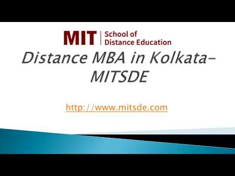 Distance MBA in Kolkata | Distance Management Courses  | MBA Distance Education