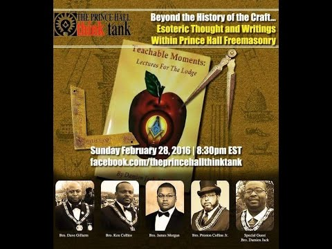 Beyond the History of the Craft…Esoteric Thoughts and Writings Within Prince Hall Freemasory