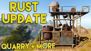 Rust Update - Mining Quarry, Survey Charge, Water Catcher & Bullet Flyby's