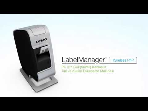 Dymo LabelManager PNP Wi-Fi Etiket Makinesi Tanıtım Videosu
