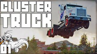 """TRUCKER CONVOY PARKOUR!!!"" - CLUSTERTRUCK ALPHA 1080p HD Gameplay"