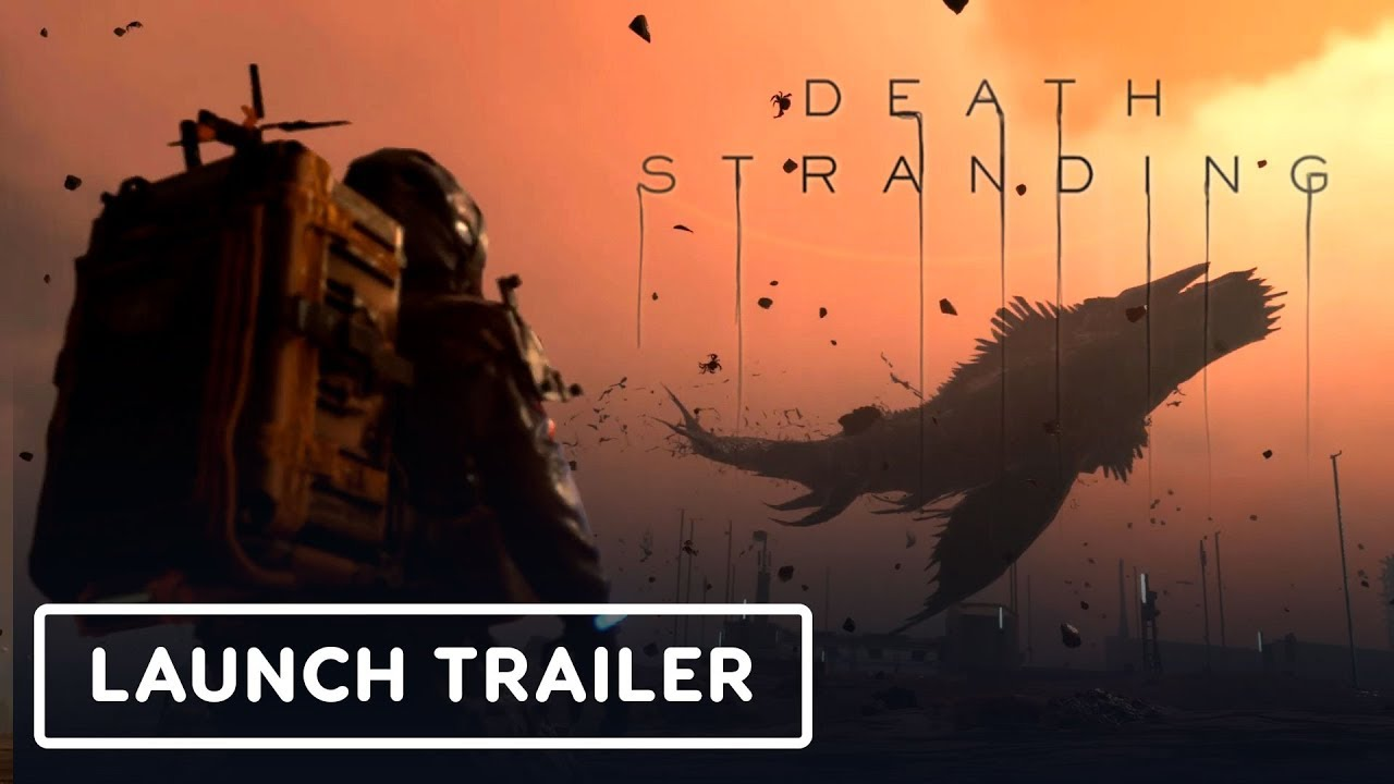 Death Stranding - Official Launch Trailer thumbnail
