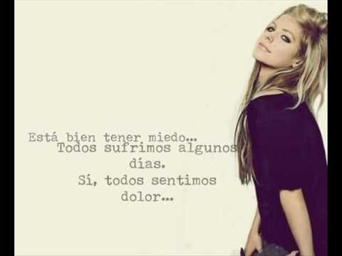 Avril Lavigne - Everybody Hurts [Traducción Español]