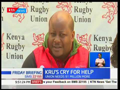 The Kenya rugby union calls on the government to honor their promise of filling the financial gap
