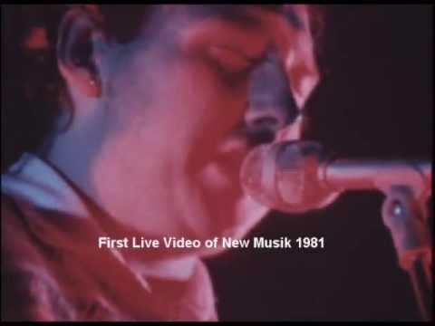 New Musik Fisrt Live Music London, 1981