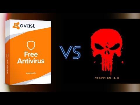 Avast VS Scorpion 3.0