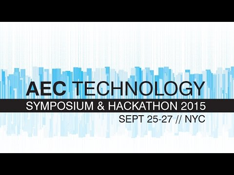 AEC Technology Symposium 2015: Capturing Building Data – From 3D Scanning to Performance Prediction