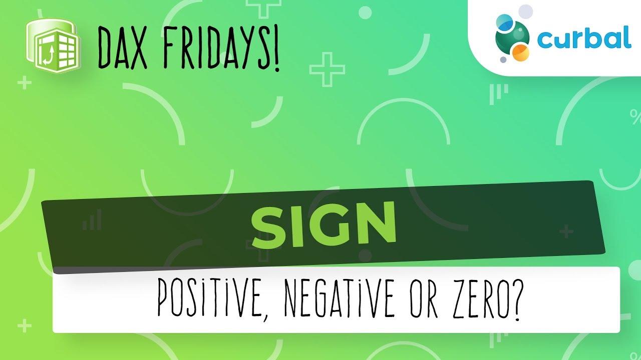 DAX Fridays! #89: SIGN