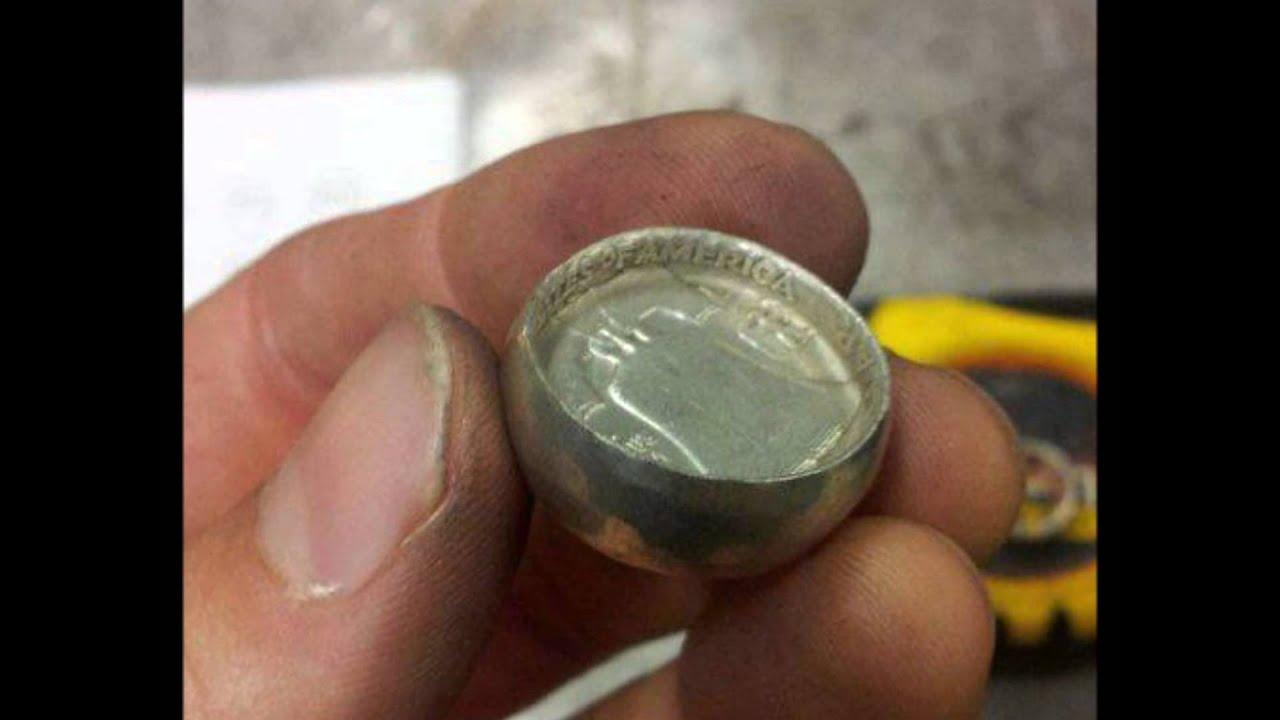 кольцо из монеты
