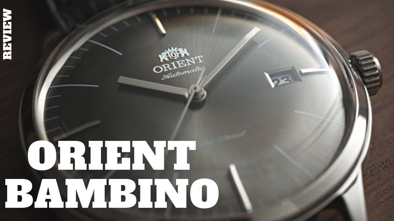 0b0768a2706 Um Excelente Relógio Mecânico de Entrada  Orient Bambino - YouTube