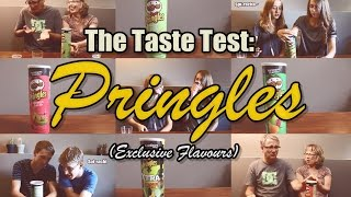 The Taste Test: Pringles - Exclusive Flavours