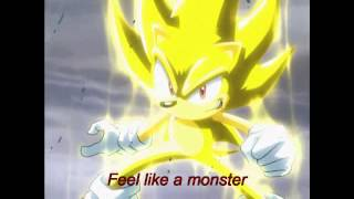 Sonic - Monster By Skillet (Music Video) [With Lyrics]