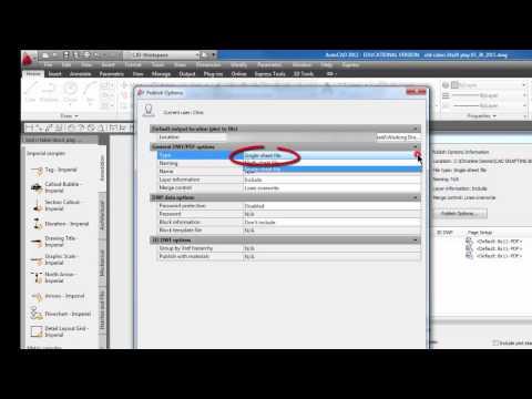Autocad - Publish multiple layouts to one PDF #45