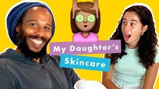 Trying My Daughter's Skincare Routine with Ziggy & Judah Marley | Kid Spa | Cosmopolitan