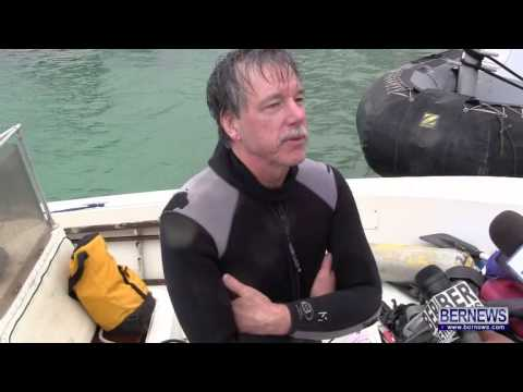 Diver Rescued After Boat Starts Sinking, Apr 4 2013