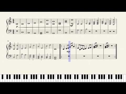 Fibonacci sequence music experiment