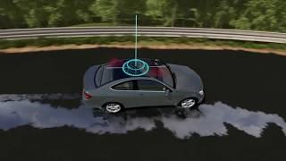 видео Система динамической стабилизации автомобиля ESP