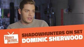 Shadowhunters On Set: Dominic Sherwood Talks Season 2B