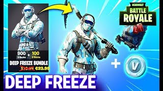 DEEP FREEZE BUNDLE FORTNITE BIBBERPAKET G-NSTIGER