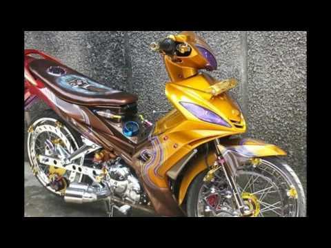 Cah Gagah | Video Modifikasi Motor Yamaha Jupiter MX Airbrush Keren Terbaru