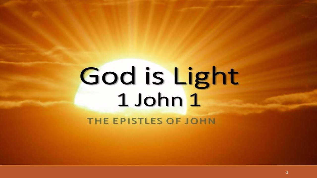 1 john Investigating the word of god: first john gene taylor-1- an introduction to first john the author of the book while his name is not attached to it at any place, tradition and history have always assigned this.