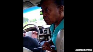 Grandma Pulls Knife Out On Disrespectful Grandson @Hodgetwins