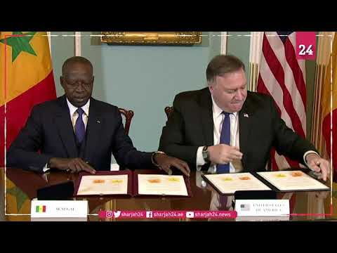 Pompeo, Senegal PM sign accord to improve Senegal power sector