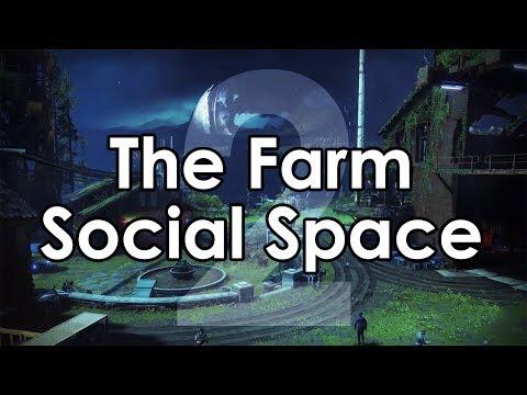 Destiny 2: The Farm Social Space Reveal