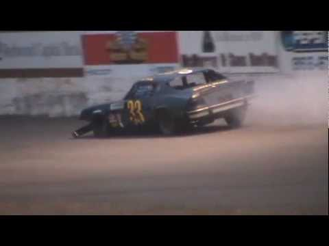 Redwood Acres Raceway 9-10-11 Dax Kinsey Hits The ...