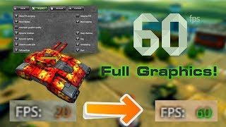 How to get 60 FPS with full graphics! + Promocode! | Tanki Online - танки Онлайн