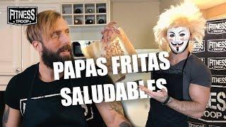 COCINANDO CON FITNESS TROOP #3 // Papas Fritas Saludables