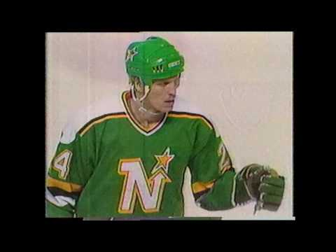St. Louis Blues vs. Minnesota North Stars, Game 1 Norris Division Final - KMOV 4/18/1991