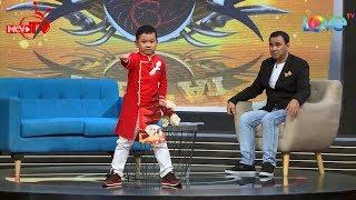 Thần đồng cải lương bé Dương Công Tuyển đánh karate VĂNG GIÀY trên talkshow Giải Mã Kỳ Tài 😅