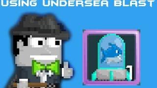 Growtopia | Using Undersea Blast