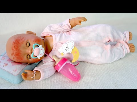 Мультик для детей Почему Беби Бон Не спит? Как Мама Пела Колыбельную Песенку для Куклы 108мама тв