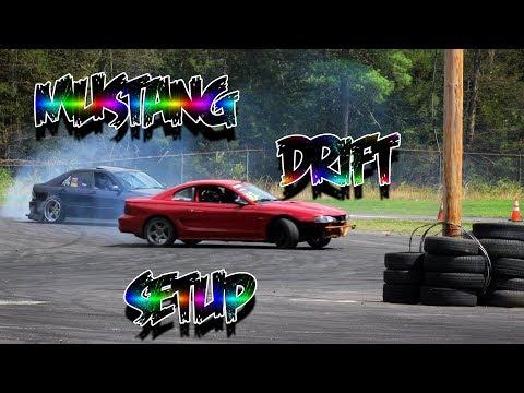 THE BEST MUSTANG SN95/FOX DRIFT CAR SETUP - YouTube