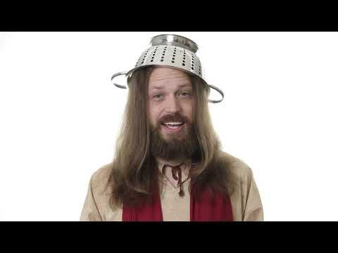 Jesus Is Now Pastafarian
